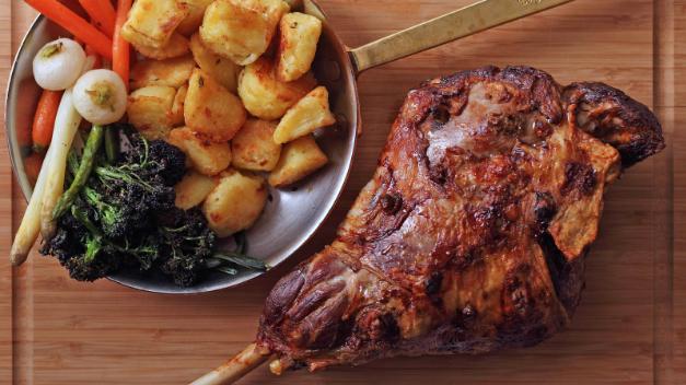 lamb spit roast