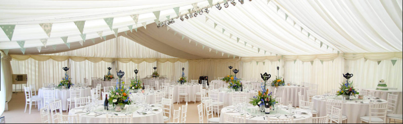 where to hire wedding marquee South Coast