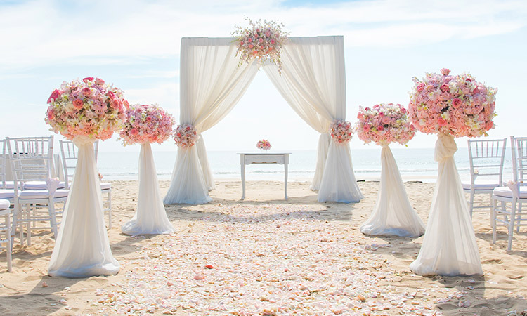 beach weddings Australia packages