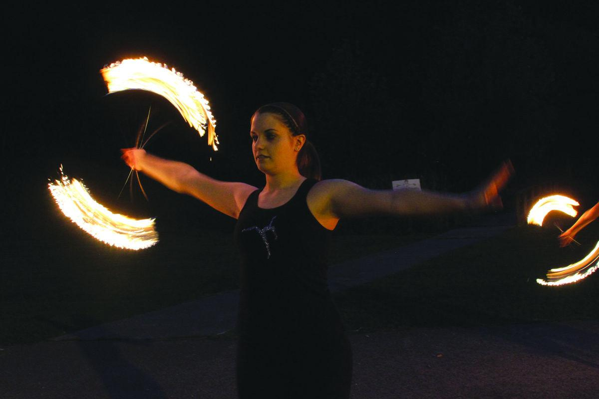 Fire twirling classes